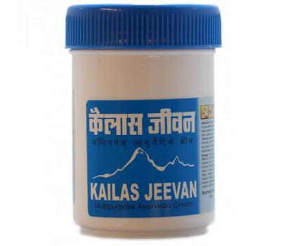 Кайлаш (Кайлас) Дживан многофункциональный аюрведический крем (Kailas Jeevan), 120 г