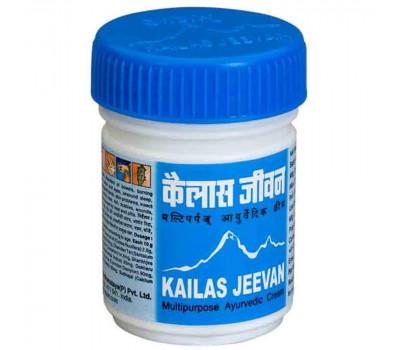 Кайлаш (Кайлас) Дживан многофункциональный аюрведический крем (Kailas Jeevan), 60г