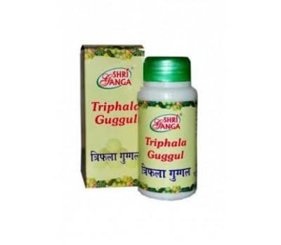Трифала гуггул (Triphala Guggul) Shri Ganga, таблетки, 100 г