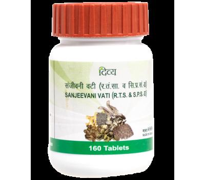 Сандживани Вати- антимикробное средство, Sanjeevani Vati, Patanjali, 160 таб