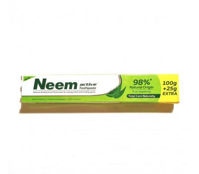 Зубная паста Ним Актив /  NEEM ACTIVE Toothpaste, Jyothy Laboratories ltd, 100 г + 25 г