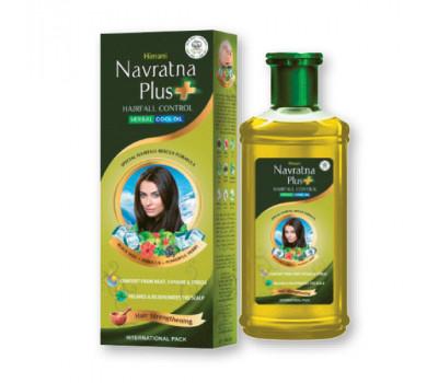 Травяное масло для волос Навратна ПРОТИВ ВЫПАДЕНИЯ/ Navratna Plus Hairfall Control, Himani, 200мл