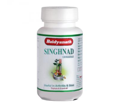 СИНГХАНАДИ ГУГГУЛ (Singhnad gugglu) Baidyanath 80 таблеток