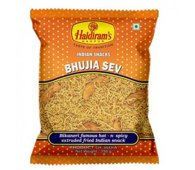 Бхуджия Сев- индийская закуска /Bhujia Sev Haldiram's, 150 гр.