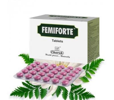 Фемифорте от влагалищных выделений, Femiforte Charak, 30 таб