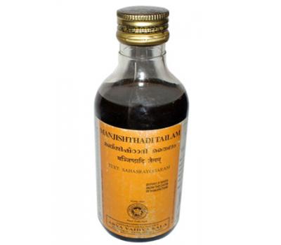Массажное масло Манжиштади / Manjishthadi thailam, Kottakkal, 200 мл
