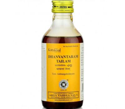 Дханвантарам Тайлам Dhanvantaram Tailam Kottakkal 500 мл