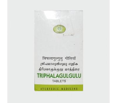 Трифала Гуггул АВН, Triphala Guggulu DS AVN, 100 таб