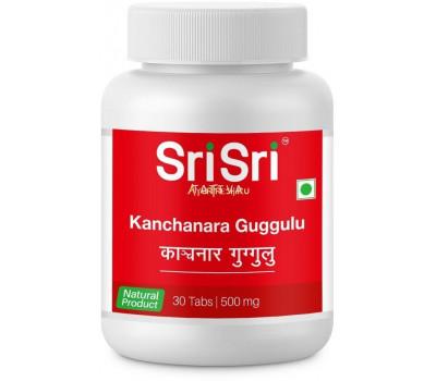 Канчнар гуггул (Kanchanara Guggulu) Sri Sri Tattva, 30 таб.