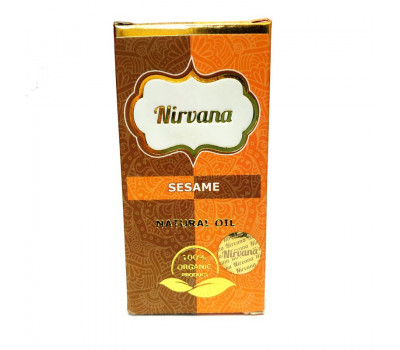 Натуральное масло Кунжута для наружного применения Нирвана, Sesame Natural Oil Nirvana, 30 мл