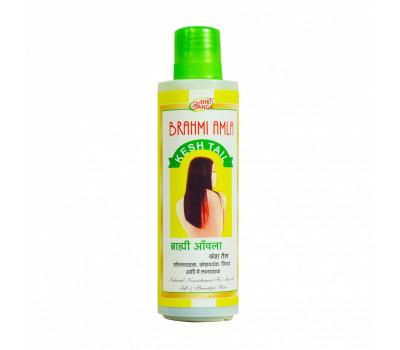 Масло Брахми Амла Кеш-для волос, Brahmi Amla Kesh Tail Shri Ganga, 200мл