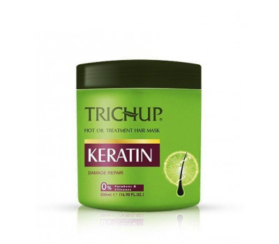 Маска для волос Кератин Тричуп, Keratin Hair Mask Trichup, 500мл