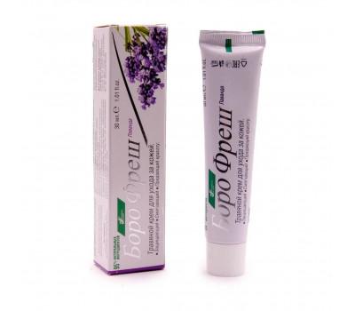 Борофреш Лаванда Травяной крем для кожи Аюшакти, Boro Fresh Lavender Herbal Skin Cream Ayushakti, 30 мл