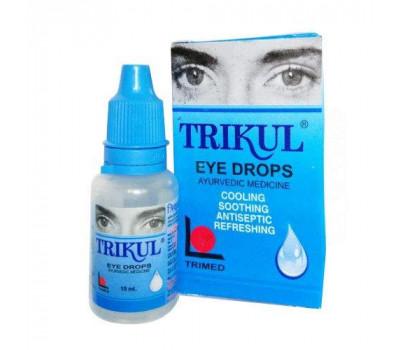 Глазные капли Трикул Тримед , Trikul eye drops Trimed, 15мл
