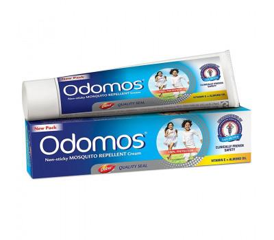 Антимоскитный крем Одомос Дабур, Odomos Mosquito repellent cream Dabur, 25 гр