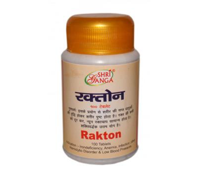 Рактон- для крови, 100 таб, Shri Ganga