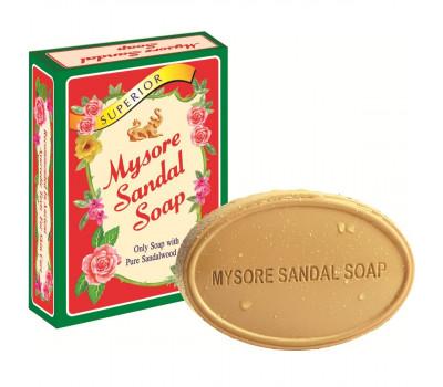 Сандаловое мыло Майсор Карнатака, Mysore Sandal Soap Karnataka, 75гр