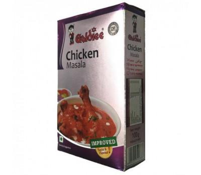 Смесь специй для курицы Чикен Масала Голди, Chicken Masala Goldiee, 120гр