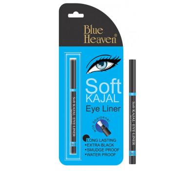 Каджал с лечебными травами Блю Хэвен, Подводка для глаз Soft Kajal Blue Heaven, 0,31гр