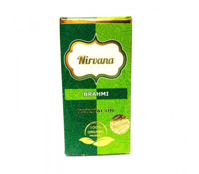 Брахми натуральное масло для наружного применения Нирвана, Brahmi Natural Oil Nirvana, 30 мл