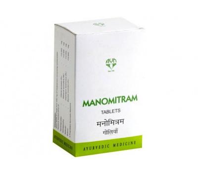 Маномитрам АВН-для нервной системы, Manomitram Tablets AVN, 90 таб
