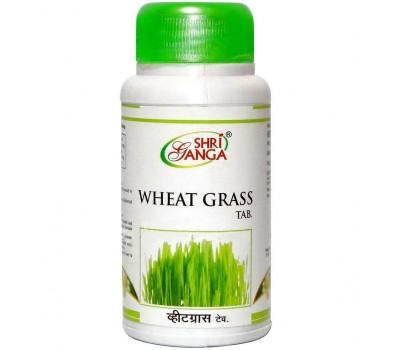 Ростки Пшеницы- иммунитет, Wheat Grass Shri Ganga, 60 таб