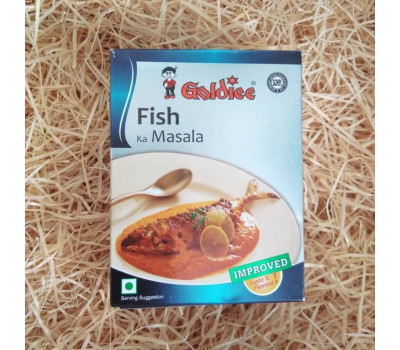Приправа для рыбы Масала Голди, Fish Curry Masala Goldiee, 100гр