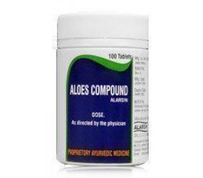 Алоэс компаунд- для женского здоровья, Aloes Compound Alarsin, 100 таб