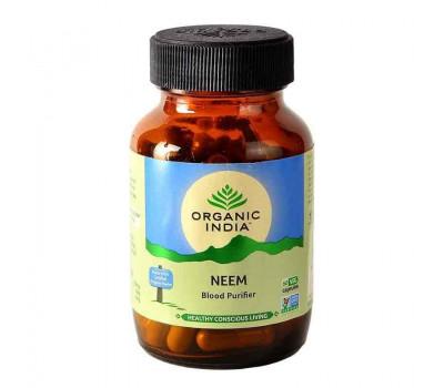 Ним чистка крови Органик Индия, Neem Blood Purifier Organic India, 60 капс