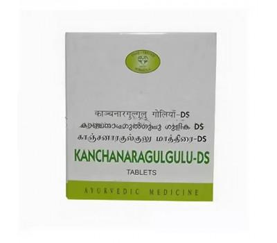 Канчанара Гуггулу-ДС- очищение лимфы, Kanchanar Guggulu DS AVN, 100 таб