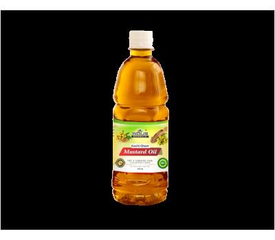 Горчичное масло Качи Гхани Индус Хербалс, Mustard Oil Kachi Ghani Indus Herbals, 225мл