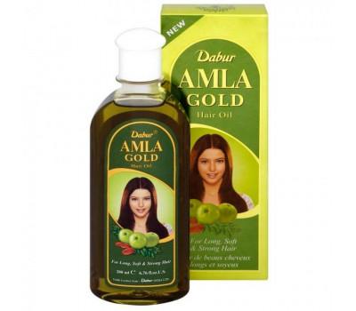 МАСЛО АМЛА Голд / Amla Gold Hair Oil, Dabur, 200мл