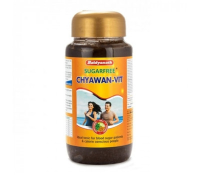 ЧАВАНПРАШ без сахара (Chyawan-Vit Sugafree) Baidyanath, 500г