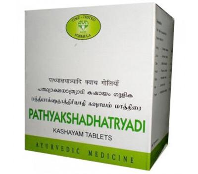 Патьякшадхатраяди Кашаям Таблет, Pathyakshadhatryadi Kashayam Tablet AVN, 100 таб