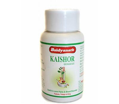 Кайшоре гуггул (Kaishore guggulu) Baidyanath, 80 таб.