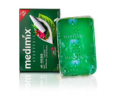 Мыло Медимикс 18 трав, Soap Medimix 18 herbs, 125гр