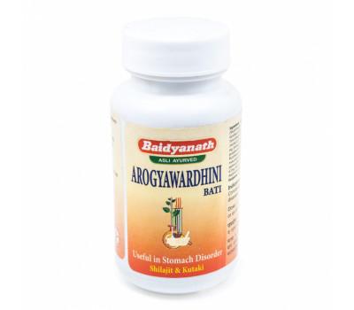 Арогьявардхини бати (Arogyawardhini Bati) Baidyanath, 40 таб.