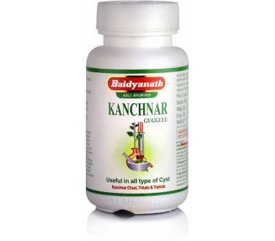 Канчнар гуггул (Kanchnaar guggul) Baidyanath, 80 таб.