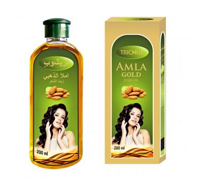 Масло для волос Амла Золотое Тричуп,Amla Gold Hair oil, Trichup, 200мл
