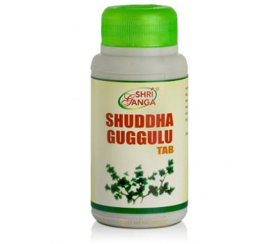 Шуддха Гуггулу- обмен веществ, 120 таб, Shri Ganga