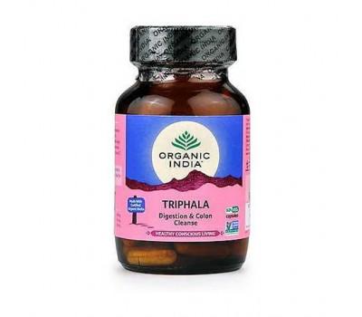 Трифала Органик Индия, Triphala Organic India, 60 капс