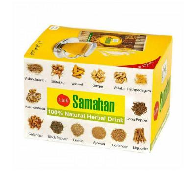 Чай Самахан Линк Натурал, Samahan Tea Link Natural, 10шт по 4гр