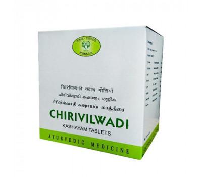 Чирувилвади Кашаям АВН-для пищеварения, Chirivilwadi kashayam AVN, 100 таб