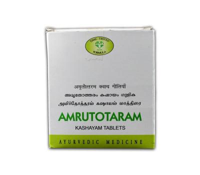 Амрутотхарам кашаям, Amrutotharam Kashayam AVN Ayurveda Formulations, 100 таб