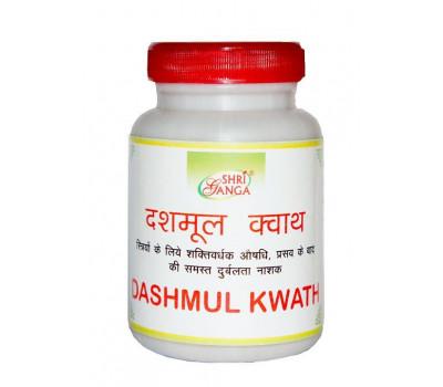 Дашамул Кватх- очищение организма, Dashmul Kwath Shri Ganga, 100 гр