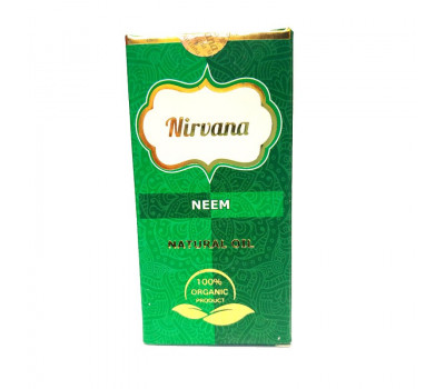 Ним Натуральное масло для наружного применения Нирвана, Neem Natural Oil Nirvana, 30 мл