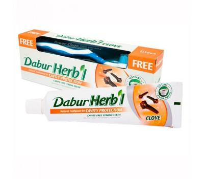 "Зубная паста ""Гвоздика"" Dabur Herb'l Clove Toothpaste, 150г"