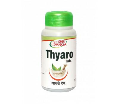 Тьяро- для щитовидной железы, Thyaro Tab Shri Ganga, 120 таб