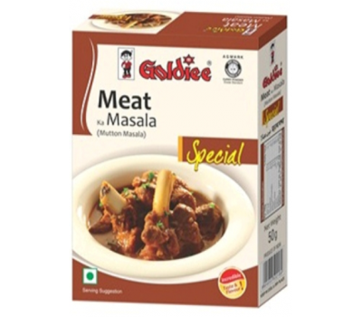 Приправа для мяса Голди, Meat Masala Goldiee, 100 гр