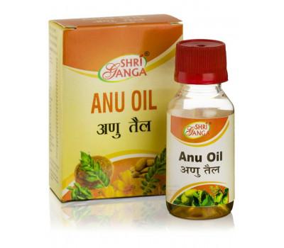 Масло Ану- болезни ухо, горло, нос, 50 мл, Shri Ganga